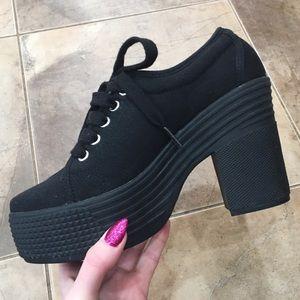 Jeffrey Campbell Shoes - Chunky Heel Platform Jeffrey Campbell Mary Janes 7